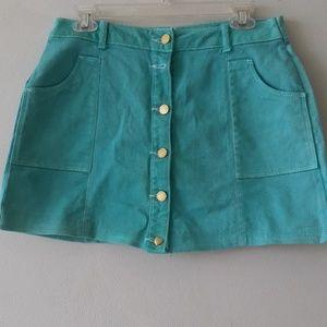 Juniors mini skirt